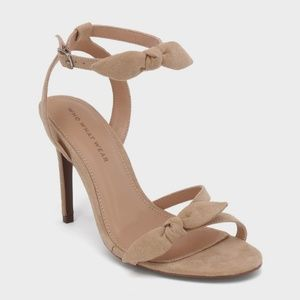 Who What Wear Eden 10 Taupe Heels